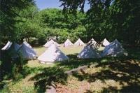 Zeltplatz 1 während eines Pfingstlagers