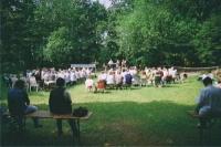 Openair-Gottesdienst auf der Zelterwiese