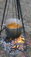 Lagerfeuer-Suppe
